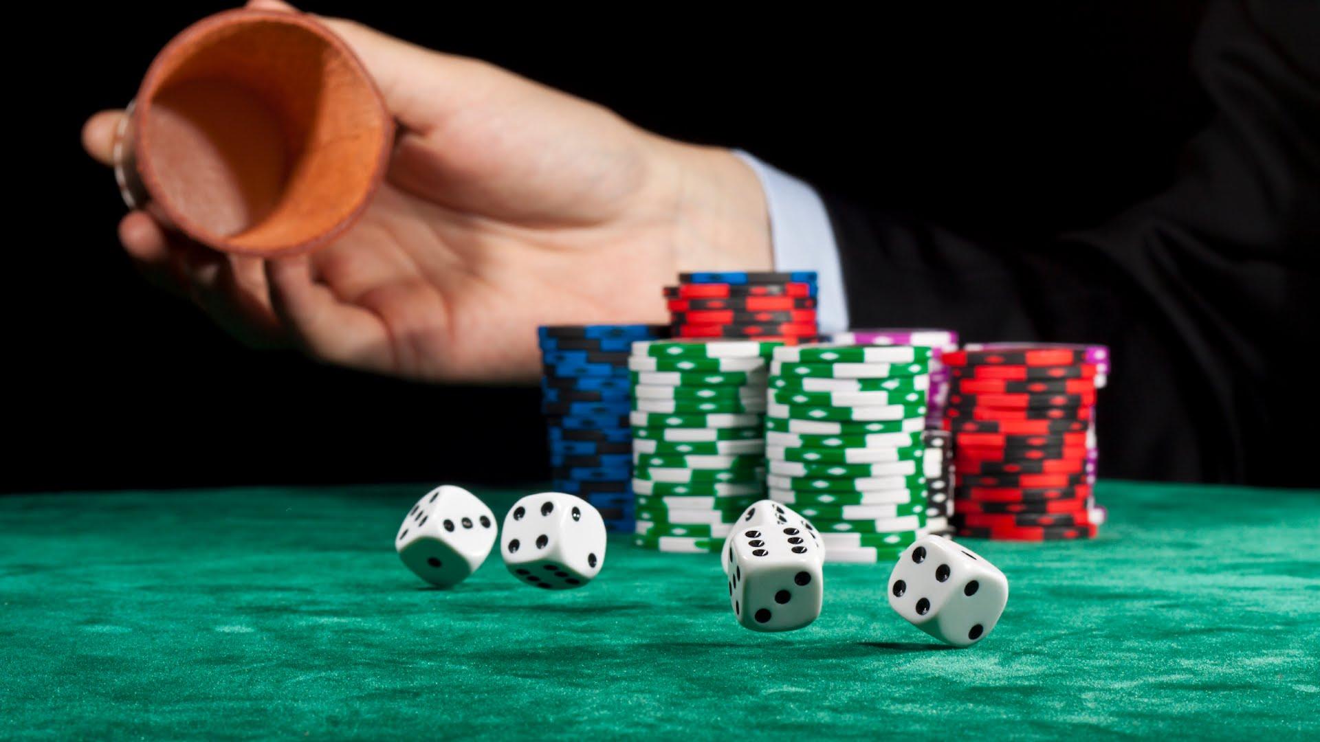 кубик из казино